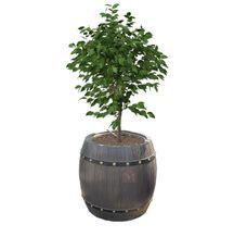 Blomsterkrukkeform til betonstøbning - 45 cm