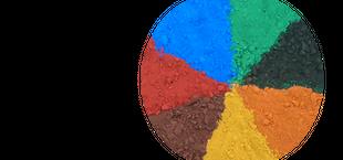 Oxydfarvepulver
