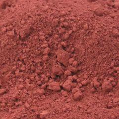 Oxydfarve i Rød farve til indfarvning af beton og mørtel.