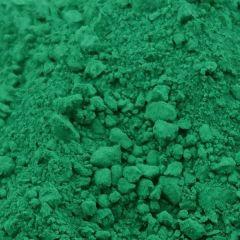 Oxydfarve i Grøn farve til indfarvning af beton og mørtel.