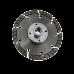 Betonskive (flange) - Ø125mm
