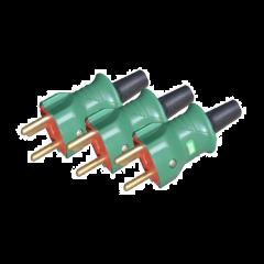 El-Pakke - hanstik stikpropper  (3 stk.)