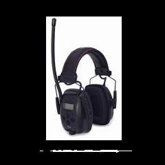 Howard Leight Sync Digital Radiohøreværn med justerbar hovedbøjle og LCD Display.