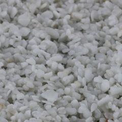 Hvid Carrara (2-4 mm)