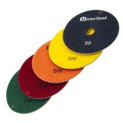 Slibepads sæt (Ø 100 mm)
